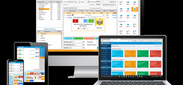 Phần mềm quản lý nhà hàng SoftNet Restaurant