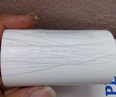 Máy in bill mau hỏng đầu in? Có phải do giấy in dỏm ?