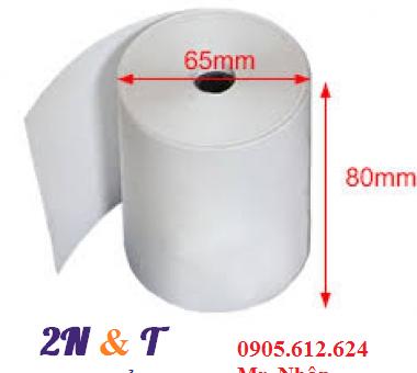 Giấy in nhiệt K80 phi 65 – (giấy in bill K80 phi 65)